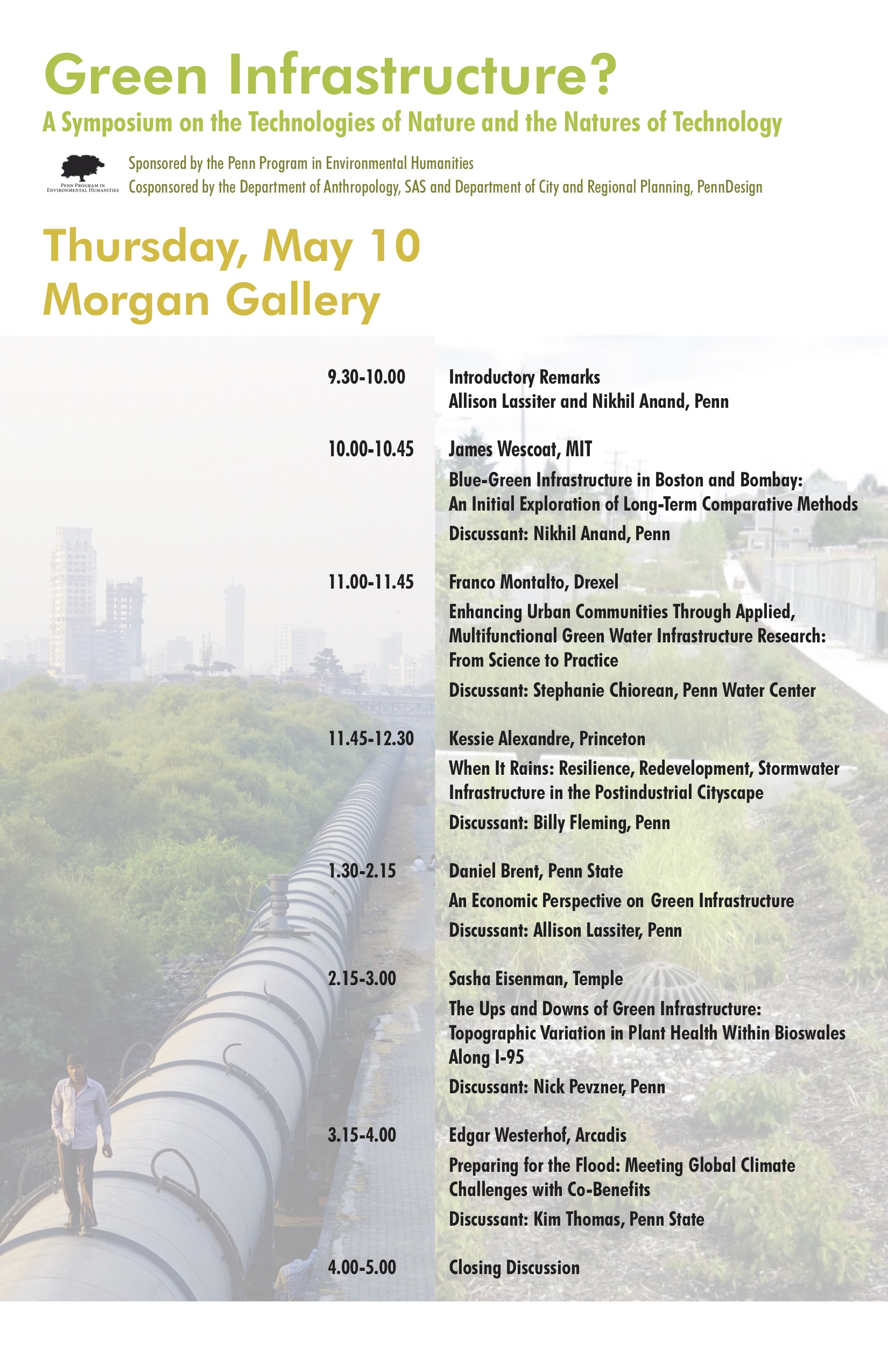 green infrastructure symposium program