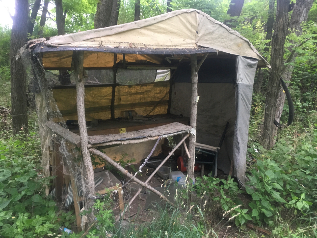 Shelter off the grid