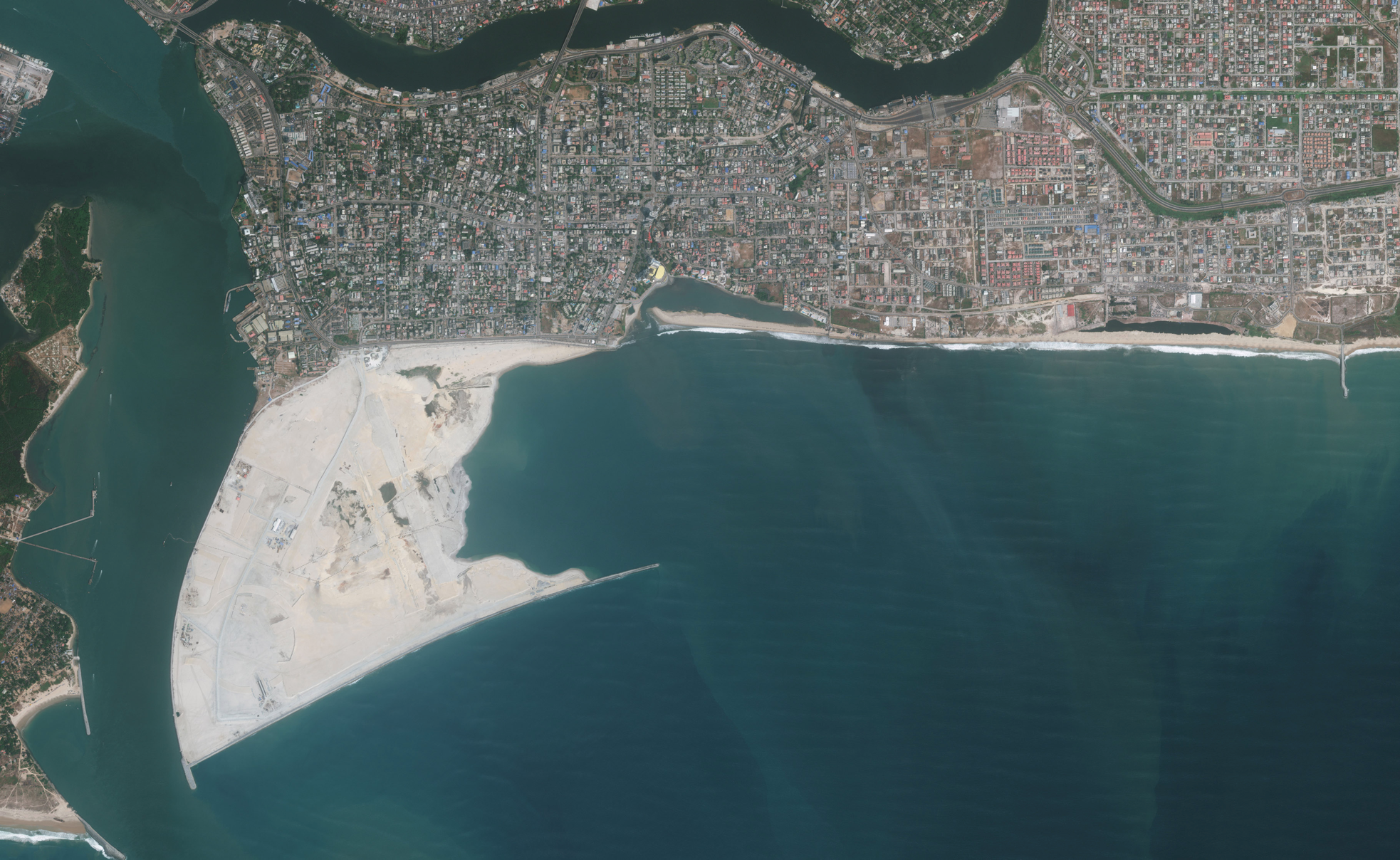 Satelite Eko Atlantic