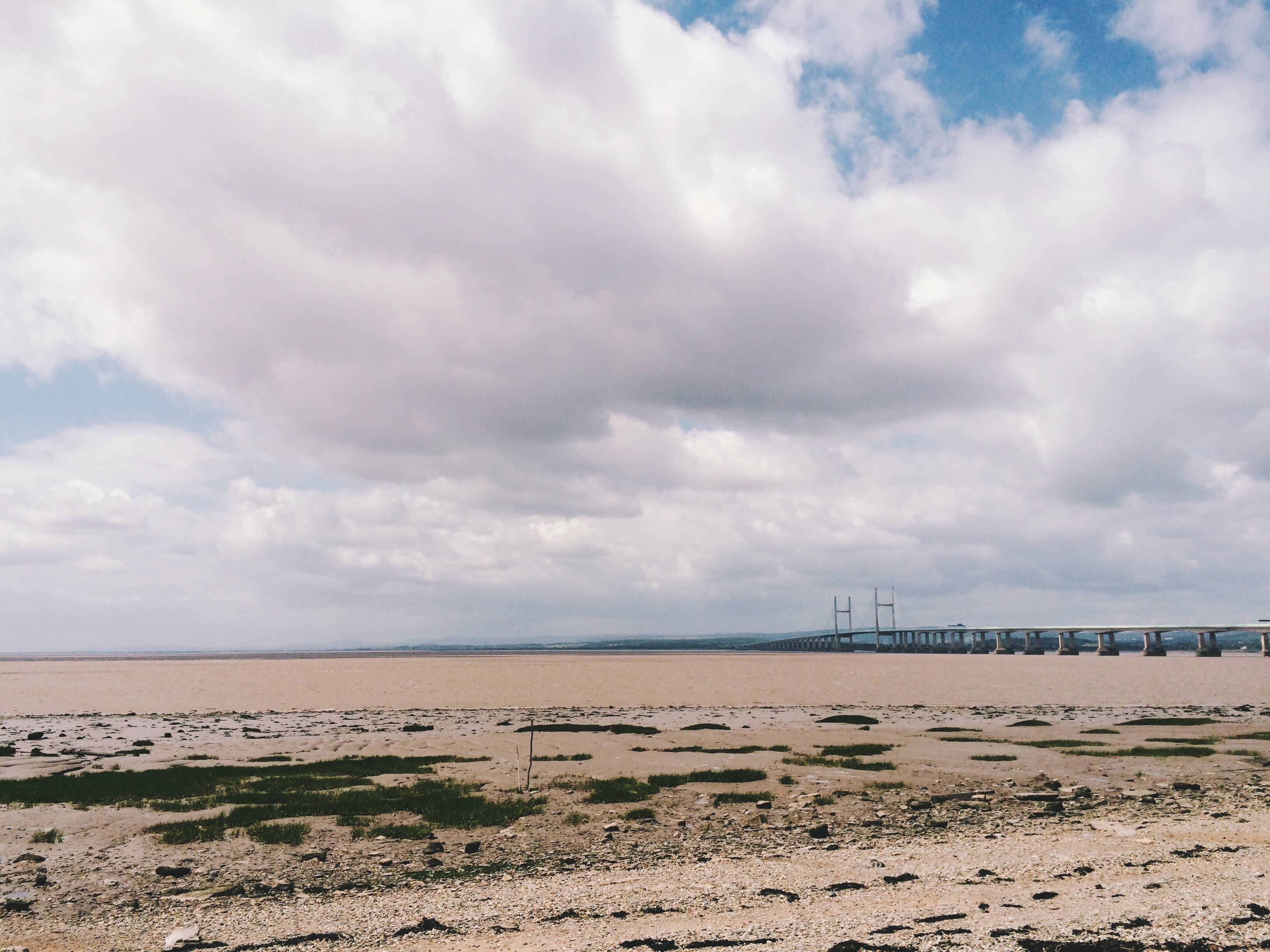 The Severn estuary from Severn Beach. Photo by Marianna Dudley