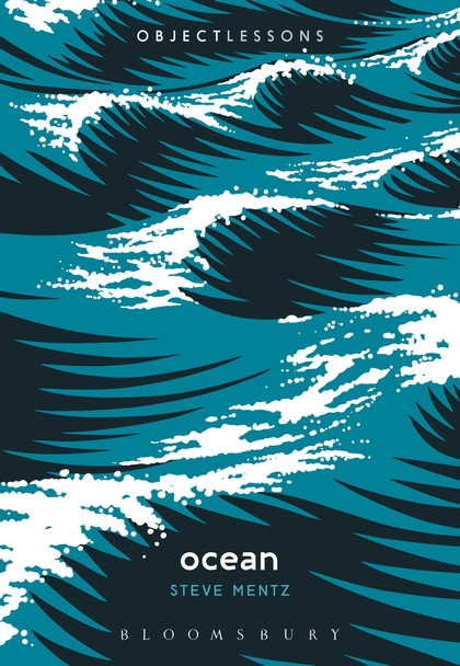 book cover of Ocean, depicts blue green waves with white caps, small white text in the bottom center of the page