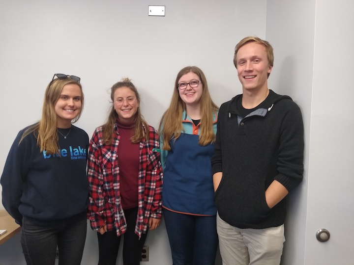 PPEH Public Research Interns on the Climate Storytelling Team