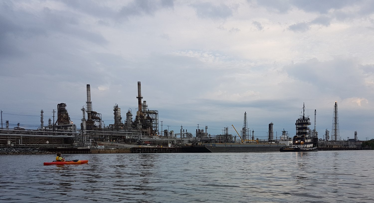 Philadelphia Energy Solutions refinery on the Lower Schuylkill River courtesy of Coryn Wolk
