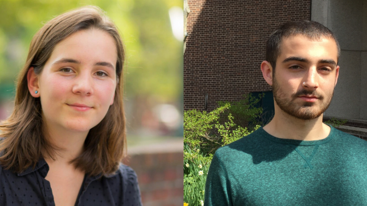 Headshots of PPEH Summer Research Interns Lucy Corlett and Jacob Hershman