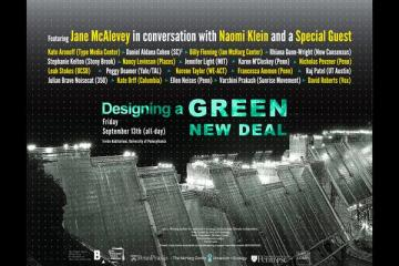 Designing a Green New Deal Flyer