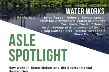 ASLE Water Works Event Poster