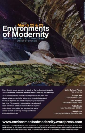 Environments of Modernity poster