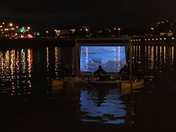 Floating Archives on Schuykill River