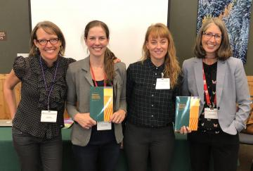April Anson and other participants at the Western Literature Association's conference (WLA) in Estes Park, Colorado