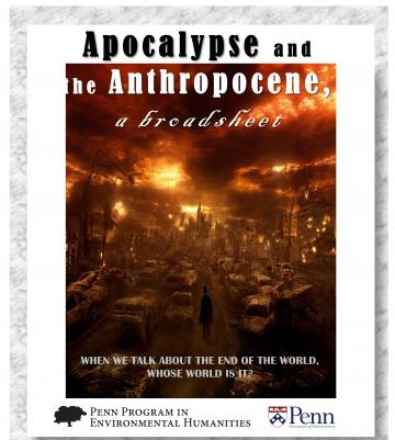 Apocalypse and the Anthropocene cover image