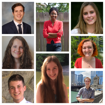 collage of new PPEH summer Public Research Interns